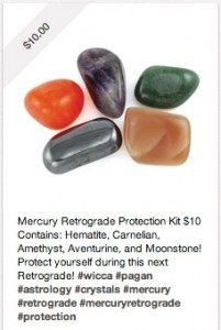 Mercury Retrograde Gems